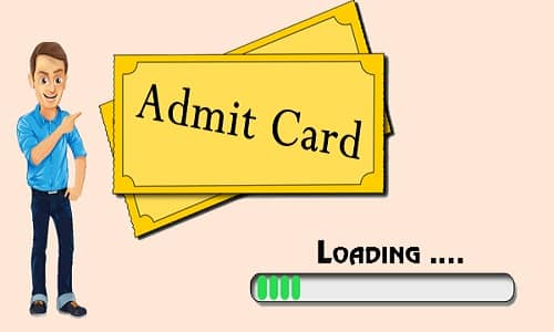 Punjab PSC Section Officer Admit Card