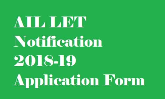 AIL LET Notification