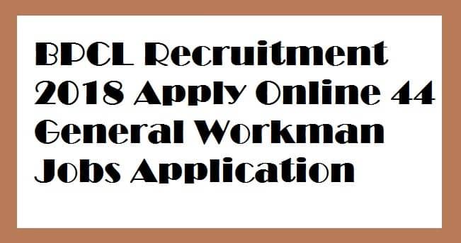 BPCL Recruitment