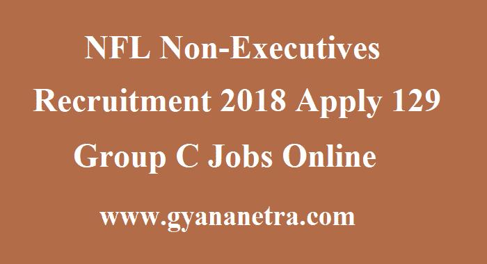 NFL Non-Executives Recruitment