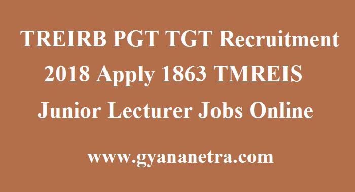 TREIRB PGT TGT Recruitment