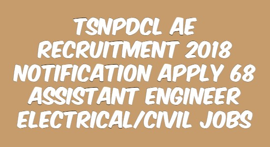 TSNPDCL AE Recruitment