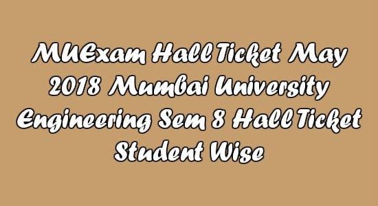 MuExam Hall Ticket