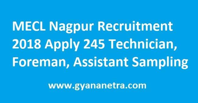 MECL Nagpur Recruitment