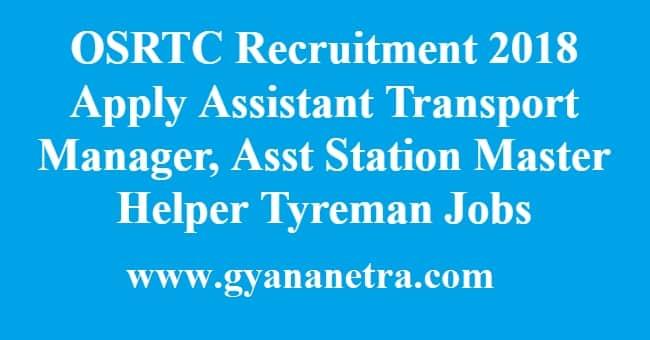 OSRTC Recruitment