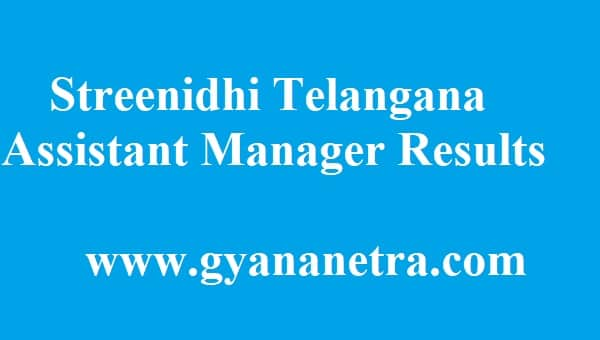 Streenidhi Telangana Results 2018