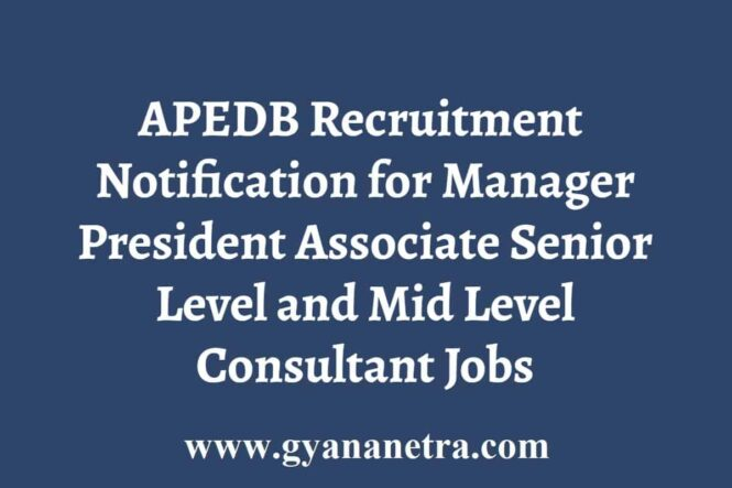 APEDB Recruitment
