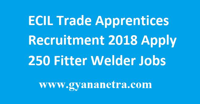 ECIL Trade Apprentices Recruitment