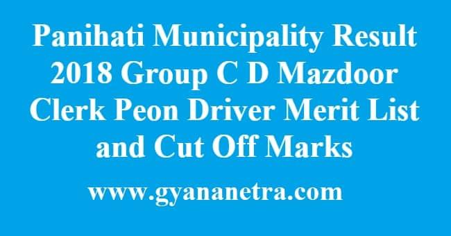 panihati municipality Result