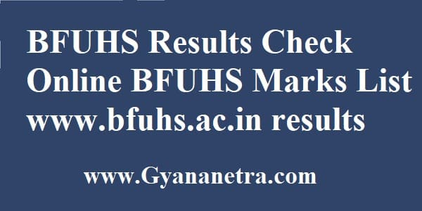 Baba Farid University Result Check Online