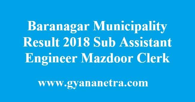 Baranagar Municipality Result