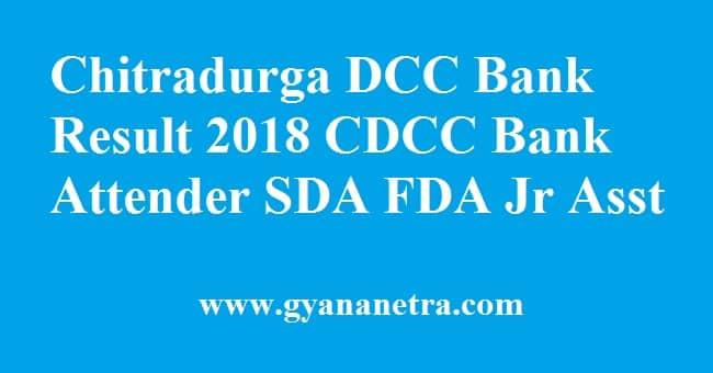 Chitradurga DCC Bank Result