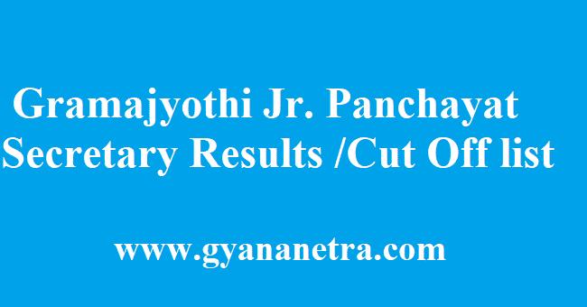 Gramajyothi Results 2018