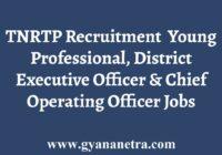 TNRTP Recruitment Notification