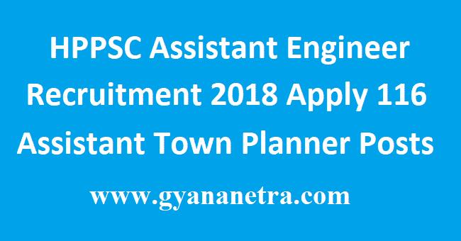 HPPSC Assistant Engineer Recruitment