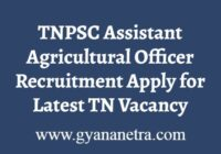 Latest TNPSC AAO Recruitment