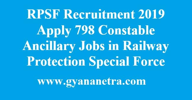 RPSF Recruitment