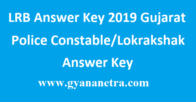 LRB Answer Key 2019