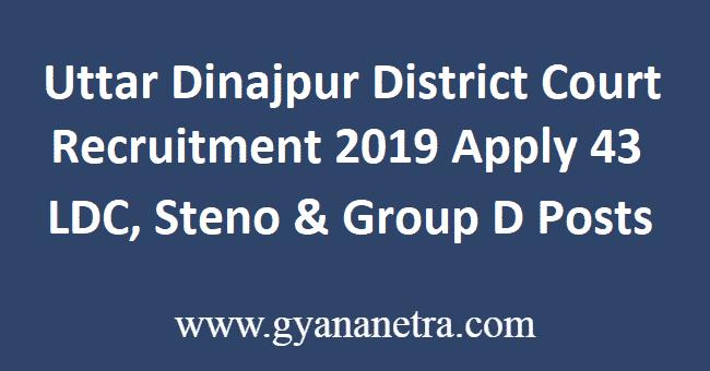 Uttar-Dinajpur-District-Court-Recruitment-2019