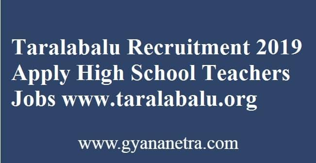 Taralabalu Recruitment