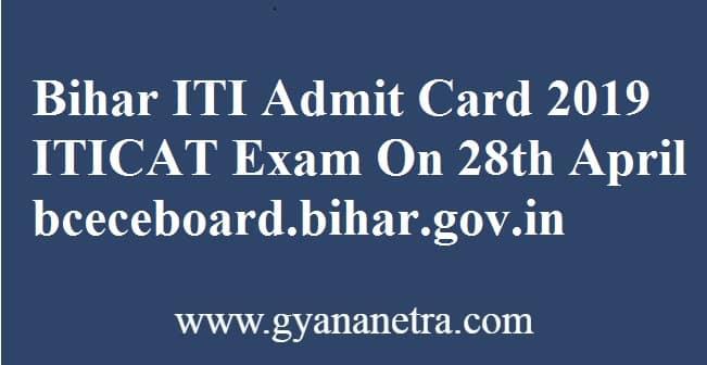 Bihar ITI Admit Card