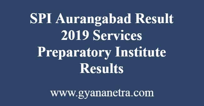 SPI Aurangabad Result