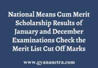 TN NMMS Results Merit List