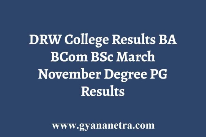 DRW College Results