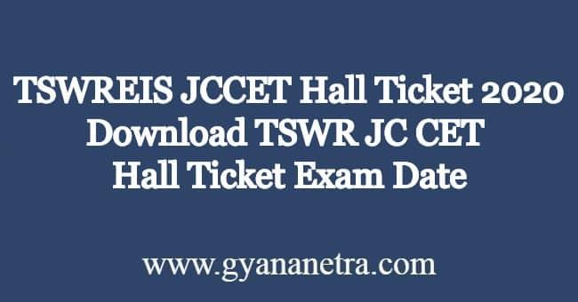TSWREIS-JCCET-Hall-Ticket
