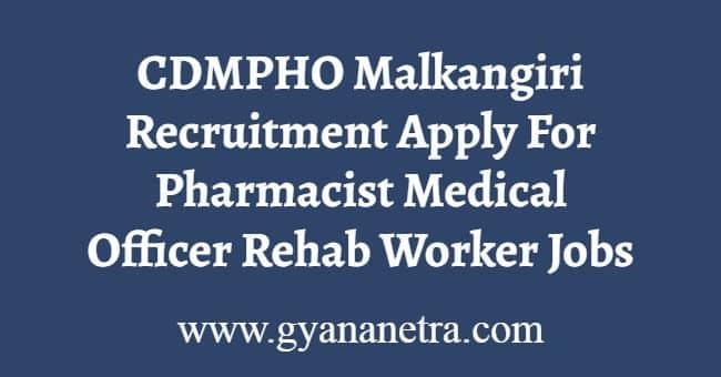 CDMPHO Malkangiri Recruitment