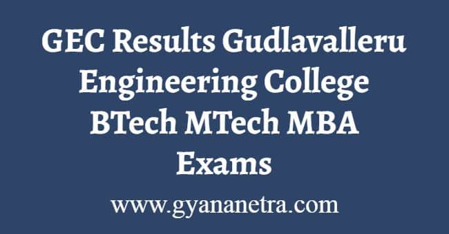 GEC Results