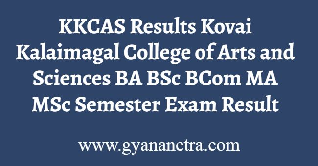 KKCAS Results