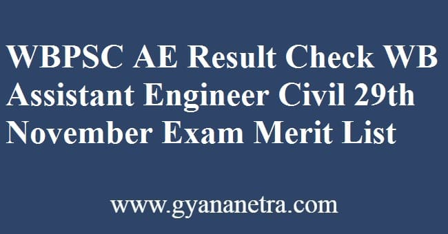 WBPSC AE Result Check Online