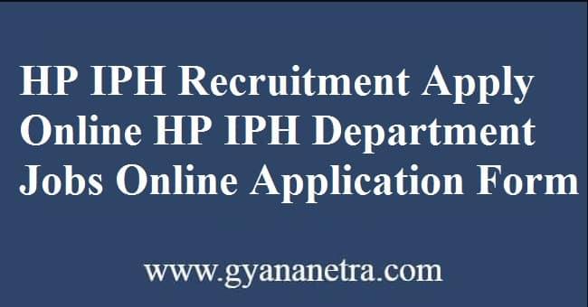 IPH Recruitment