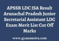 APSSB LDC JSA Result