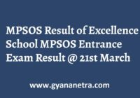 MPSOS Result Check Online