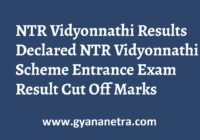NTR Vidyonnathi Results Check Online