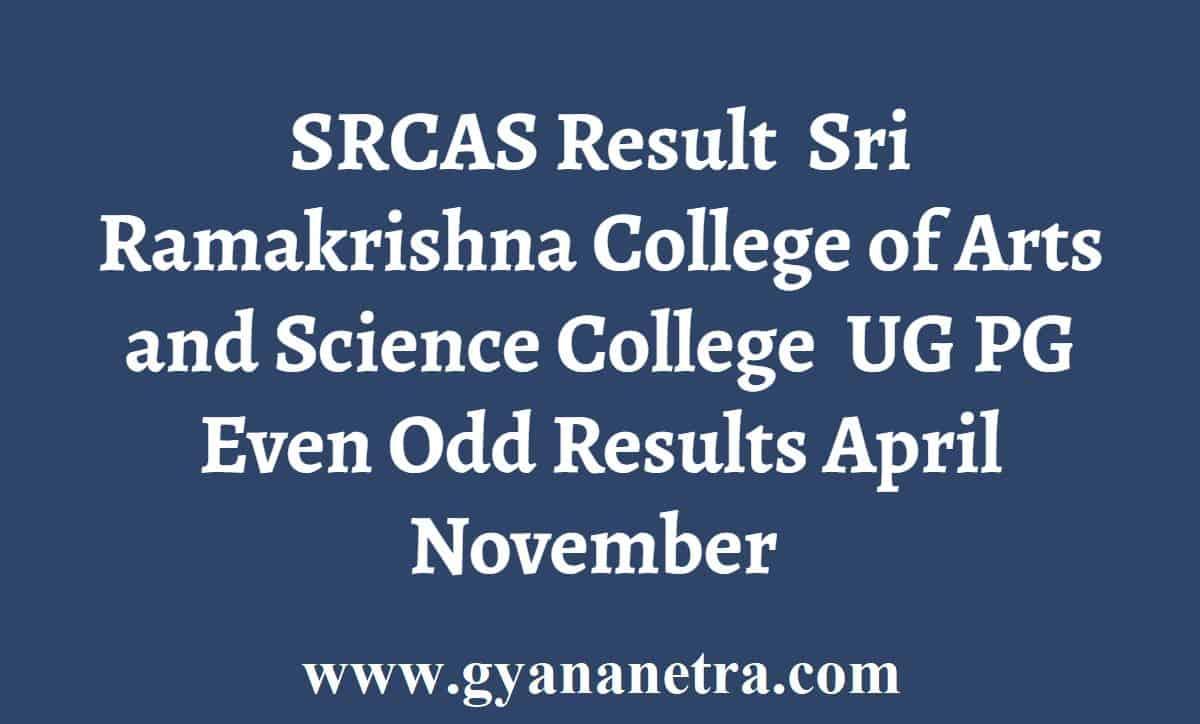 SRCAS Result