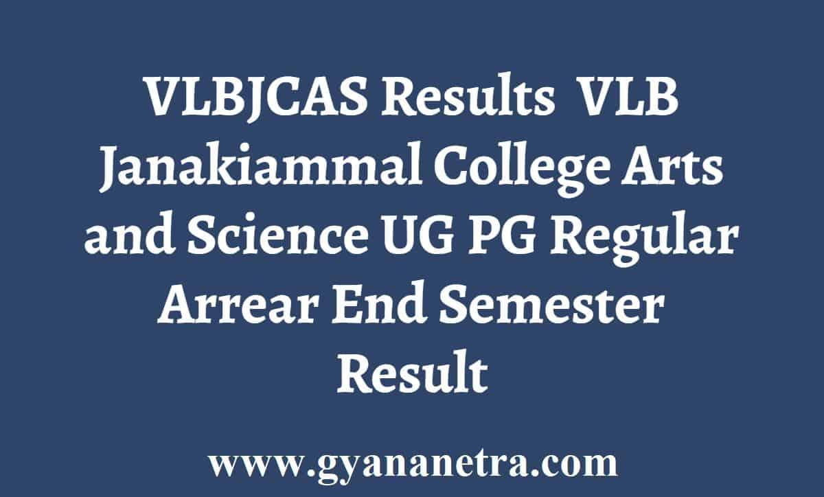 VLBJCAS Results