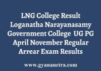 LNG College Result