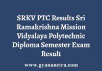 SRKV PTC Results